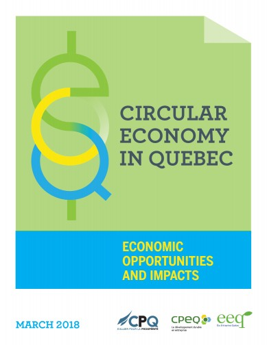 Circular Economy in Québec - Economic Opportunities and Impacts